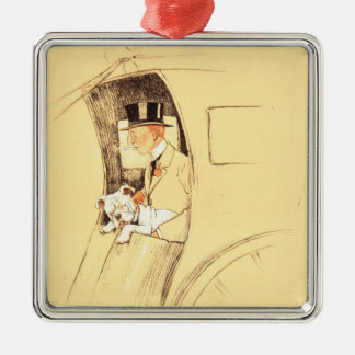 Hansom Cab Christmas Ornament