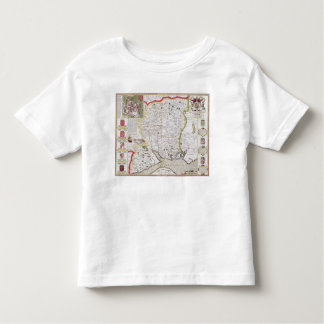 Hantshire, engraved by Jodocus Hondius Toddler T-Shirt