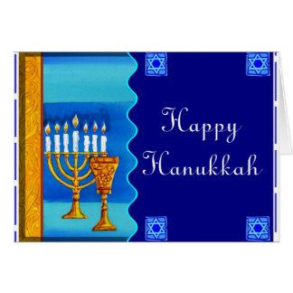 Hanukkah - 1 greeting card