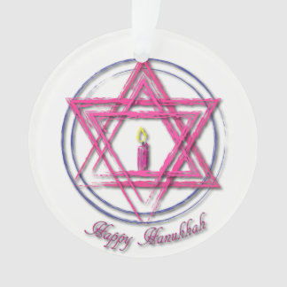 Hanukkah 2017 Ornament - Candle
