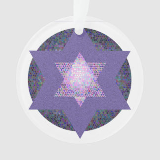Hanukkah 2017 Ornament - Star of David (multi)