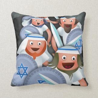 Hanukkah and the Maccabees Cushion