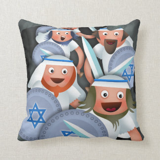 Hanukkah and the Maccabees Cushions
