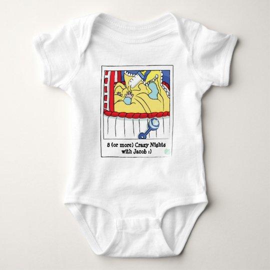 Hanukkah Baby Jersey Body Suit Baby Bodysuit