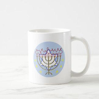 Hanukkah Basic White Mug