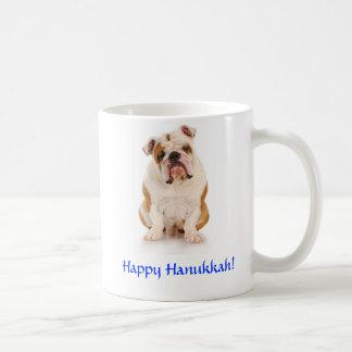 Hanukkah Bulldog Mug