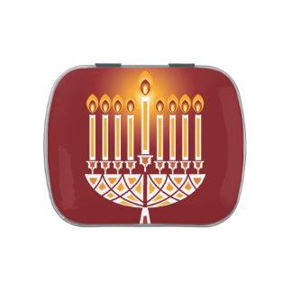 Hanukkah Candles Jelly Belly Tin