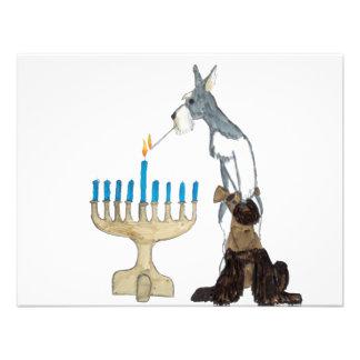 Hanukkah - Chanukah card Custom Invite