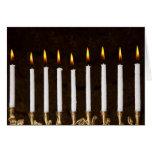 Hanukkah Chanukah Hanukah Menorah Burning Candles