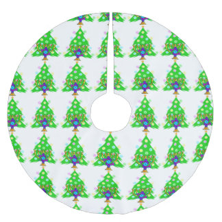 Hanukkah Christmas Interfaith Brushed Polyester Tree Skirt