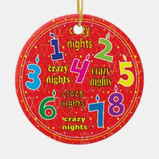 Hanukkah Circle Ornament