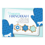 "Hanukkah Cookie Party Invitations 5"" X 7"" Invitation Card"