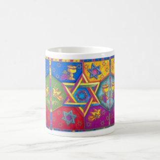 Hanukkah - CUP Basic White Mug