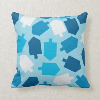 Hanukkah Driedel Pilllow Cushion