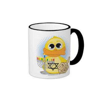 Hanukkah Duck Ringer Mug