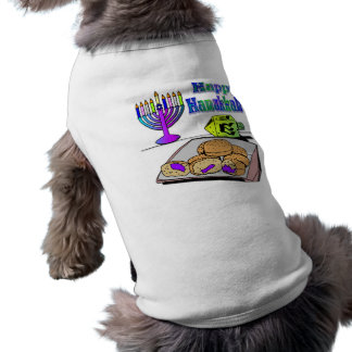 Hanukkah - Food, Dreidel, Menorah Pet Clothing