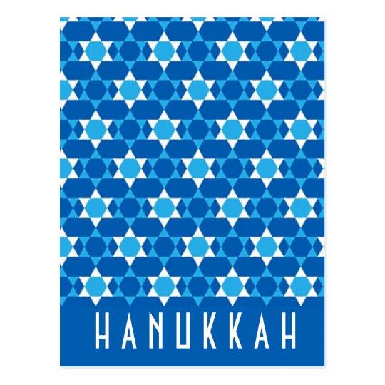 Hanukkah Greeting Postcard