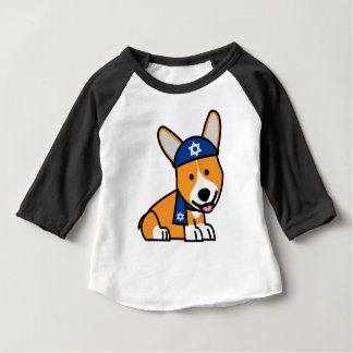 Hanukkah Happy Jewish Corgi Corgis Dog Puppy Baby T-Shirt