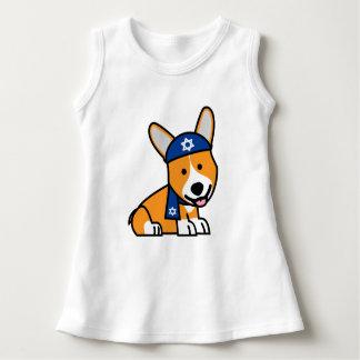 Hanukkah Happy Jewish Corgi Corgis Dog Puppy Dress