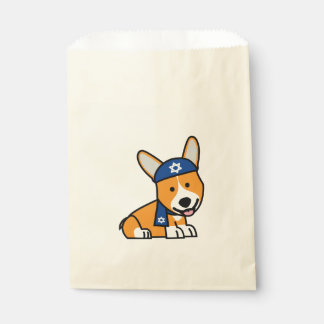 Hanukkah Happy Jewish Corgi Corgis Dog Puppy Favour Bags