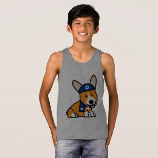 Hanukkah Happy Jewish Corgi Corgis Dog Puppy Tank Top