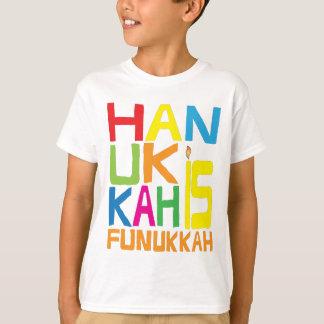 """""""Hanukkah is Funukkah"""" Kids T-Shirt. T-Shirt"""