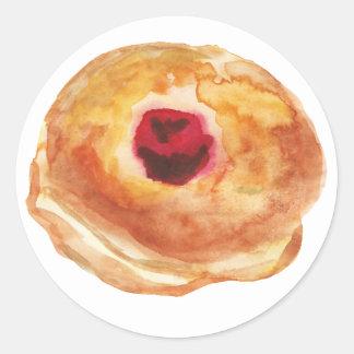 Hanukkah Jelly Donut Suvganiot Sticker