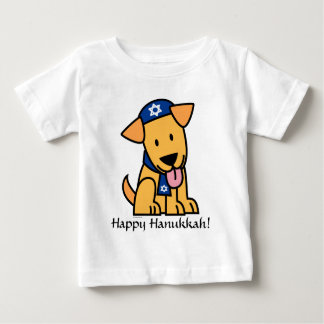 Hanukkah Jewish Labrador Retriever Puppy Dog Baby T-Shirt