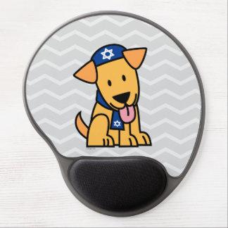 Hanukkah Jewish Labrador Retriever Puppy Dog Gel Mouse Pad