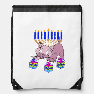 Hanukkah Kitty Backpacks