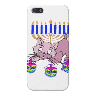 Hanukkah Kitty Case For iPhone 5/5S