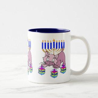 Hanukkah Kitty Coffee Mug