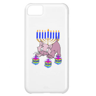 Hanukkah Kitty Cover For iPhone 5C