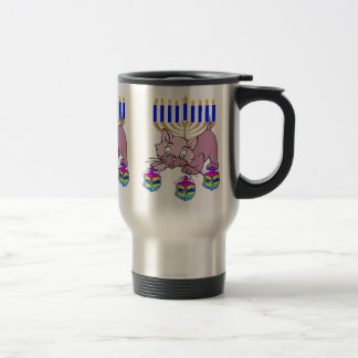 Hanukkah Kitty Coffee Mugs