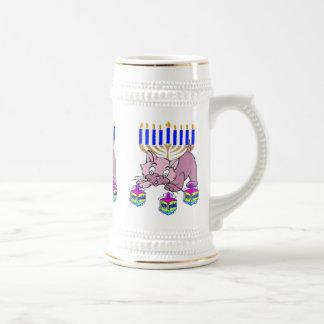 Hanukkah Kitty Mugs