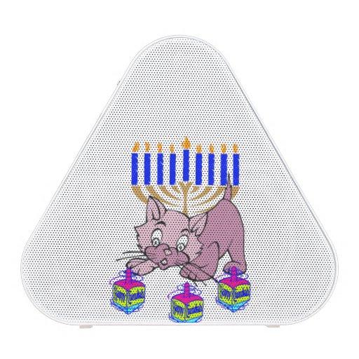 Hanukkah Kitty Bluetooth Speaker