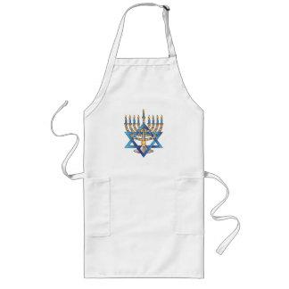 Hanukkah Long Apron
