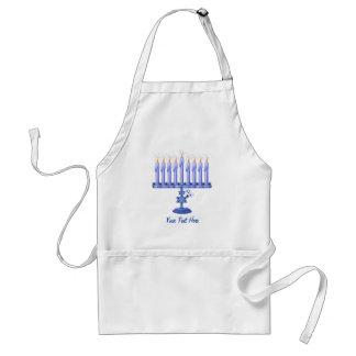 Hanukkah Menorah (customizable) Standard Apron