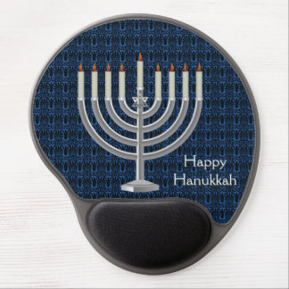 Hanukkah Menorah Judaism Gel Mousepad