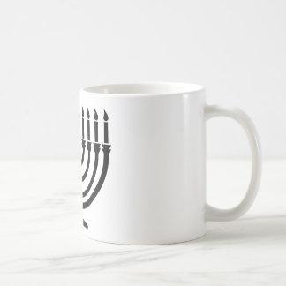Hanukkah Menorah Coffee Mugs