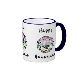 Hanukkah Menorah Coffee Mug