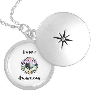 Hanukkah Menorah Personalized Necklace