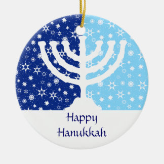 Hanukkah Menorah Ornament