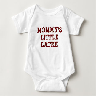 HANUKKAH MOMMY'S LITTLE LATKE BABY TODDLER CLOTHES BABY BODYSUIT