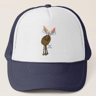 Hanukkah moose! trucker hat