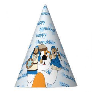 "Hanukkah Party Hat ""Zeevie and the Macabbees"""