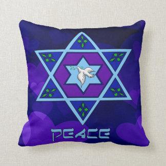 Hanukkah Peace Art Cushion