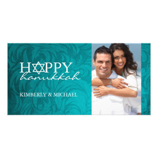 Hanukkah Photo Card Template