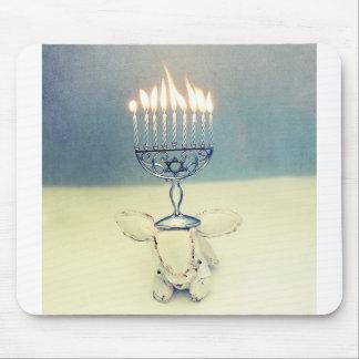 Hanukkah Photo Holiday Greeting Card Mouse Pad