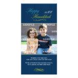 Hanukkah Pin Stripe Photo Card